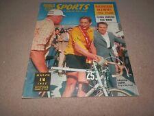 World Sports Magazine March 1955 Fausto Coppi