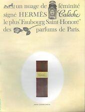 ▬► PUBLICITE ADVERTISING AD PARFUM PERFUME Calèche Hermès Grand Atomizer