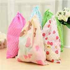 10XPortable Pack Tote Toiletries Trip Shoe Pouch Bag Laundry Storage Slipper 1