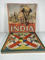 Vintage The Game Of India - Whitman Publishing No 3042 Used Wood Dice