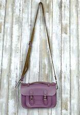 Cambridge Satchel Company Violet Purple Leather Bag Mini Crossbody Messenger