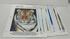 WILDLIFE FACT FILE  Pages or Inserts 12 FILES  With Facts and History