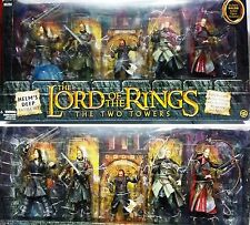 THE LORD OF THE RINGS TWO TOWERS SIGNORE DEGLI ANELLI LE DUE TORRI ACTION FIGURE