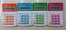 Calcolatrice Elettronica Digitale CN-185A 8 Cifre Scuola Ufficio Colori dfh