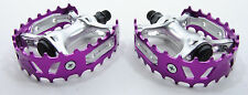 VP Bear Trap Mountain Bike Downhill DH Pedals Purple Anodized