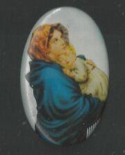 Estampa de Plastico Madonna del Riposo santino holy card santini