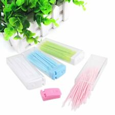 150pcs 2 way Oral Dental Picks Tooth Stick Pick Floss Interdental Brush 3 Boxes