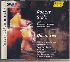 Robert Stolz - Operetten (2 CD, Hanssler) Like New