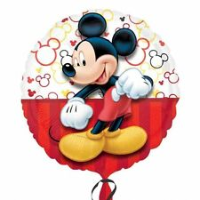 "MICKEY MOUSE Portrait 18"" Round Helium Foil BALLOON Birthday Party Decoration"