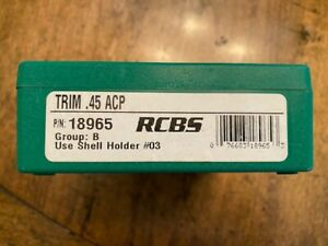 etc. RCBS SHELL HOLDER #3 NEW IN PACKAGE 308//30-06//243//284//45ACP