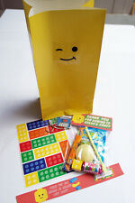 Pre-Filled Deluxe LEGO Themed Party Bags/Loot Bags/Party Bag Fillers