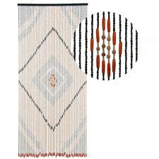 HAB & GUT Türvorhang HOLZ, BRAUN, 90 x 200 cm, 52 Stränge