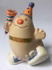 Vintage Enesco Human Bean Figurine Celebrate Happy Birthday 1983