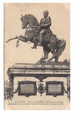 rouen,statue de napoléon ,fondue avec le bronze des canons pris a austerlizt