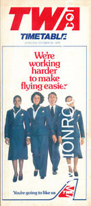 TRANS WORLD AIRLINES (TWA) | October 28, 1979 | Timetable