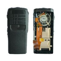 Black Replacement Housing Case for Motorola HT750 Portable Radio (Speaker+Mic)