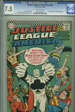 Justice League of America #43 - March 1966 - CGC 7.5