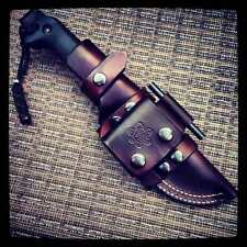 Premium Custom Made Leather Sheath For ESEE 5 Or Becker BK 2