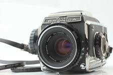 【NEAR MINT+++】 ZENZA BRONICA S2 Medium Format w/ NIKKOR-P 75mm f2.8 Japan Y181