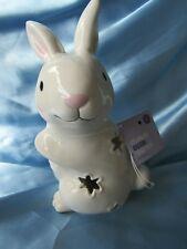 Porcelain Easter Bunny Lights Up