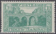 MONACO - 1927 1f10 Blue-green - UM / MNH*