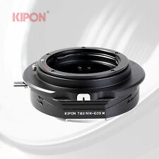 Kipon Tilt Shift Adapter for Nikon F AI Lens to Canon EOS M Mirrorless Camera