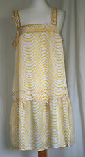 MARKS & SPENCER 'LIMITED COLLECTION (UK18 / EU46) YELLOW & CREAM DRESS - NEW