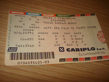 Billet Ticket Série à 1998/1999 Milan AC Fiorentina 27/09/1998 3° Bague