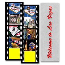 Bookmark Las Vegas Filmstrip Gambling Casino Lenticular Flip #BM20X70-954#