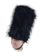 GRENADIER FAKE FUR HAT SOLDIER #BEARSKIN ADULT FANCY DRESS PARTY HEAD ACCESSORY