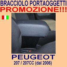 PEUGEOT 207 - CC - 207CC - bracciolo portaoggetti - vedi ns. tappeti auto - per