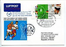 FFC 2002 Lufthansa Special Flight Calcio Football FIFA Korea Giappone Seoul