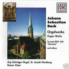 Bach - Organ Works Arte Nova ( Dorische & Others ) ( CD ) NEW / SEALED