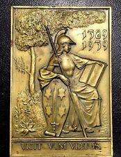 1939 Dutch Medal Issued for the Man Warrior (1389-1939), Amsterdam, Harlem N133