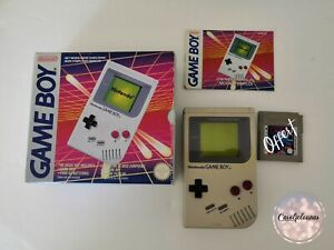 Console Nintendo game Boy GameBoy Fat En Boite Avec Notice + Jeu Tetris