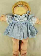 Vintage 1984 Xavier Roberts Cabbage Patch Kid Doll Signed in Green