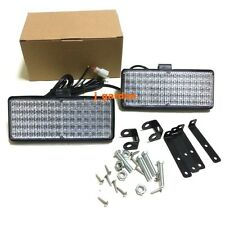 2x70 LED Emergency Warning Strobe Recovery LightBar Flashing Beacon White Light