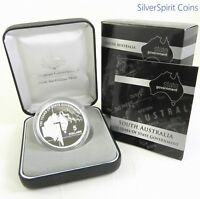 2007 STATE GOVERNMENT 150 YEARS SOUTH AUSTRALIA Silver Proof Coin