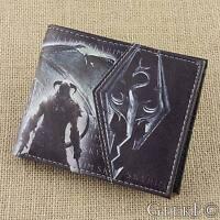 The Elder Scrolls V: Skyrim Dragonborn Themed Wallet With Coin Section - UK Shop