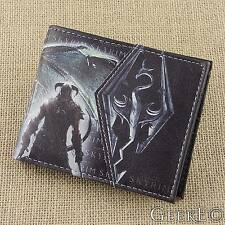 The Elder Scrolls V: Skyrim Dragonborn Themed Wallet With Coin Section - UK Shop