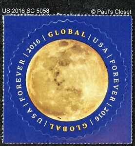 US 2016 SC 5058 $1.20  MOON MINT NEVER HINGED SELF ADHESIVE   FINE/VERY FINE