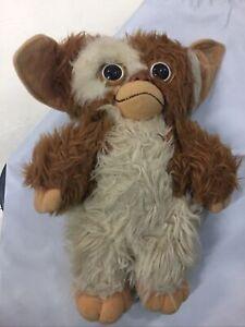 "Vintage Gremlins Stuffed GIZMO 11"" Plush Toy Doll 1984"