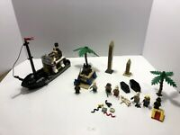 LEGO Adventurers: Boat only from 5976 + Oasis Ambush 5938 + parts 5978.