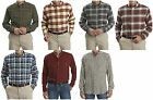 Woolrich Trout Run Men's Plaid Flannel Button-Down Shirt Cotton L XL NEW $55