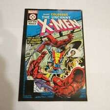 UNCANNY X-MEN 129 GIVEAWAY PROMO RARE 2nd PRINT VARIANT COLOSSUS VF