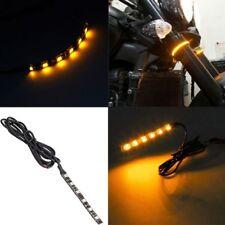New Motorcycle Turn Signal 6 LED Flexible Strip Universal Light Strip HQ
