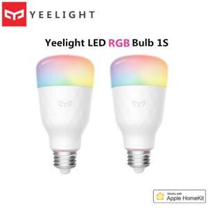 Yeelight LED Bulb 1S 8.5W RBGW AC100-240V E27 800lm Lumens Smart WiFi Light
