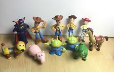 LOT TOY STORY MINI FIGURES CAKE TOPPERS WOODY HAMM SLINKY REX BUZZ MARTIANS