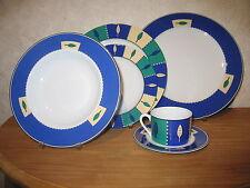 KAHLA *NEW* LEAVES Set 4 assiettes + 1 Tasse avec soucoupe