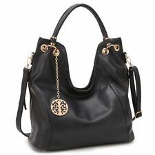 New Womens Handbags Soft Faux Leather Hobo Bags Shoulder Bag Large Purse
